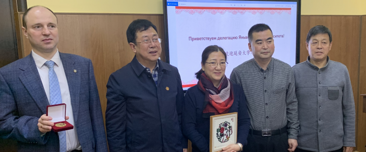 МПГУ посетила делегация первого коммунистического китайского университета.