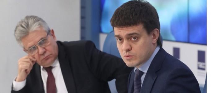 Михаил Котюков и Александр Сергеев обсудили итоги реализации национальных проектов «Наука» и «Образование» в 2019 году