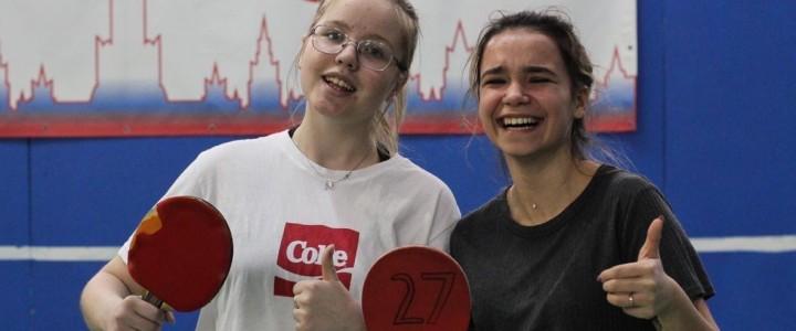 Сборная ИБХ заняла 6 место в Межфакультетском турнире по настольному теннису среди девушек