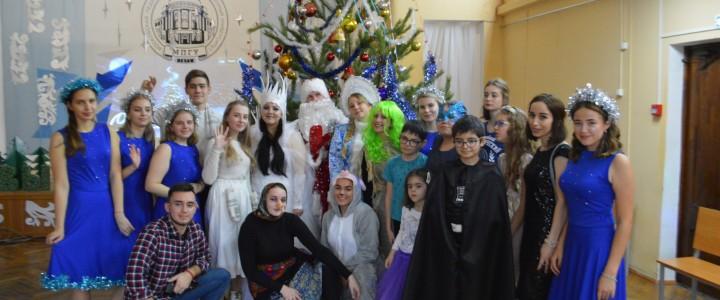 В Анапском филиале МПГУ прошла благотворительная елка для детей из специальной (коррекционной) школы №13