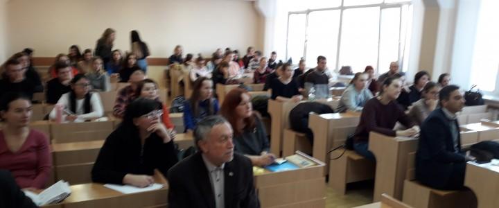 М. И. Никола прочитала цикл лекций в Минском лингвистическом университете (Республика Беларусь)
