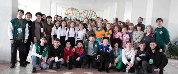 Проект «Кунак» встречали  в казачьей станице