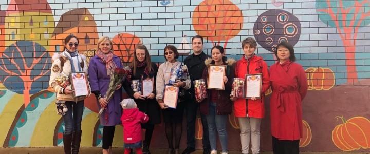 Студенты Анапского филиала МПГУ выполнили художественное оформление детской игровой площадки!