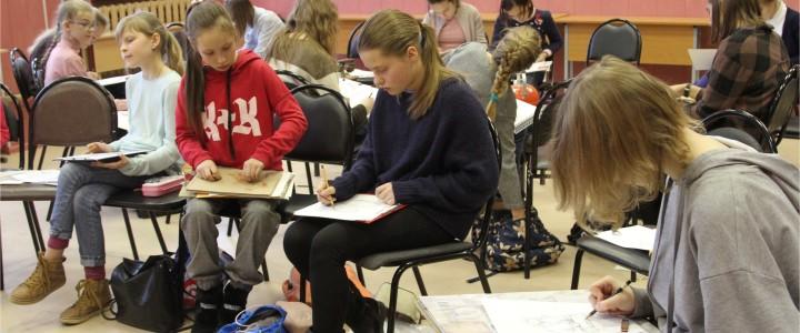 Межрегиональный академический очный конкурс учебного наброска