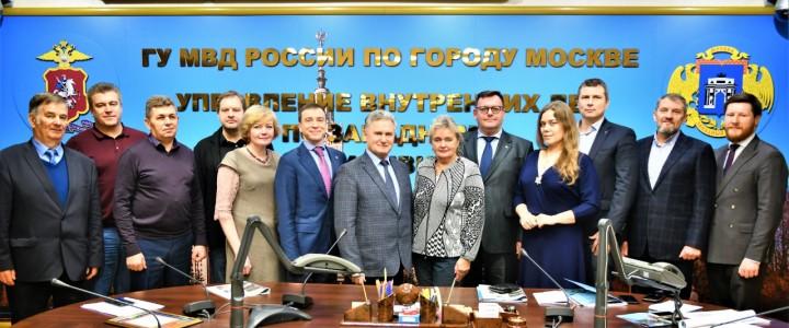 Заседание Общественного совета Управления внутренних дел по Западному административному округу города Москвы