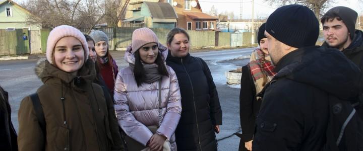 Студенты ИФТИС на выездном семинаре и экскурсии в Коломне