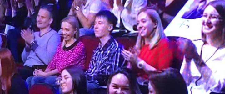 Подбираемся к телецентру: лицеисты побывали на шоу Урганта