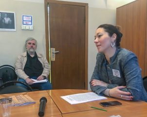 Преподаватель Института иностранных языков на X Кнорозовских чтениях