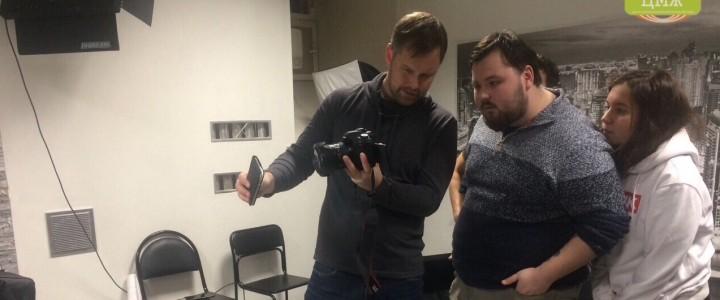Марк Юрьевич Студенов провел мастер-класс по фото для пресс-службы ИСГО