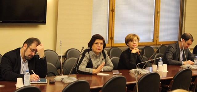 Заведующий кафедрой дошкольной педагогики приняла участие в работе Экспертного совета по вопросам оплаты труда педагогических работников в Госдуме