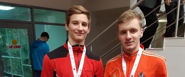 Команда МПГУ  по легкой атлетике приняла участие в XXXII Московских студенческих спортивных играх