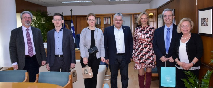 Делегация МПГУ посетила Университет Аристотеля в Салониках