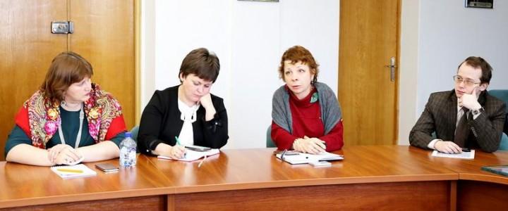 В рамках Дней МПГУ в БГПУ имени М.Танка прошло обсуждение вопросов воспитательной работы со студентами