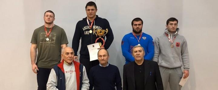 Шибзухов Кантемир стал бронзовым призёром Чемпионата Москвы по Греко-Римской борьбе