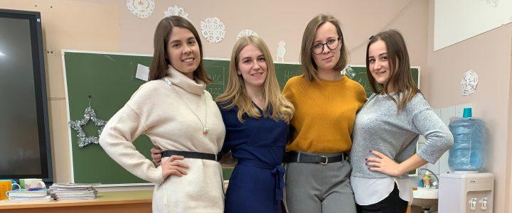 Наши студенты помогли в проведении Муниципального тура Всероссийской олимпиады