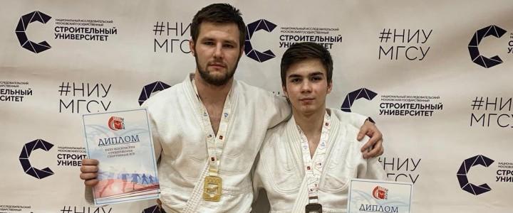 Шаров Дмитрий занял 1 место в рамках XXXII Московских студенческих игр по дзюдо