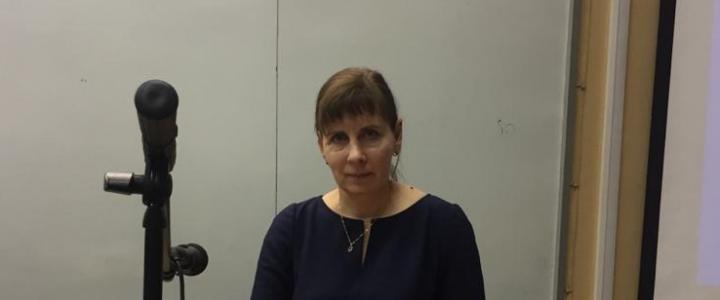 Профессор М.В.Егупова выступила оппонентом на защите диссертации в Уральском педагогическом университете