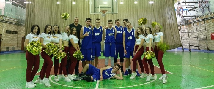 Победа мужской сборной МПГУ по баскетболу