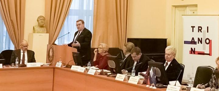 Алексей Лубков выступил с докладом на открытии VI Форума гуманитарных университетов России и Франции