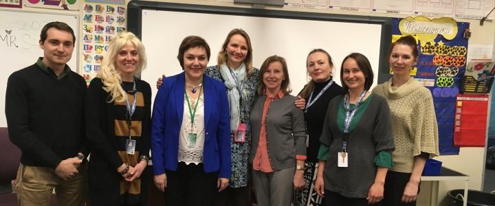 Сотрудничество с русской школой в Денвере, штат Колорадо, США