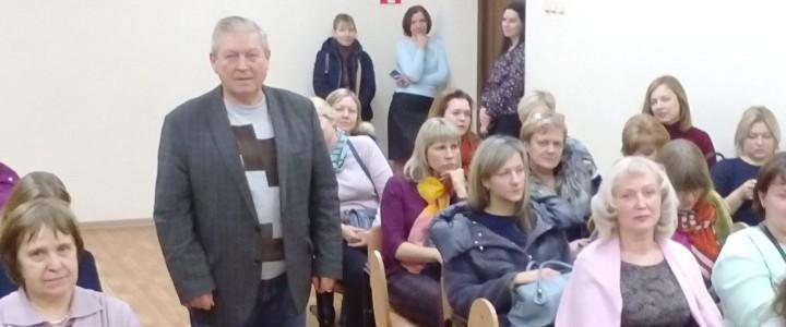 24 января 2020 года в целях организации формирования контингента обучающихся сотрудники Покровского филиала МПГУ приняли участие в общешкольных собраниях
