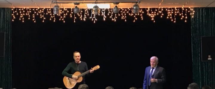В Лицее прошел литературный концерт в честь дня рождения В. Высоцкого