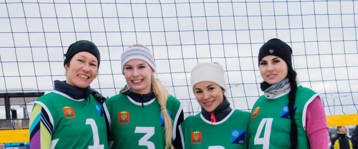 Терентьева Елизавета стала обладателем Кубка России по волейболу на снегу