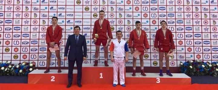 Семочкин Максим занял 3 место на первенстве России среди юношей по самбо