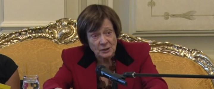 Почетного профессора МПГУ Валерию Мухину поздравили с 85-летним юбилеем