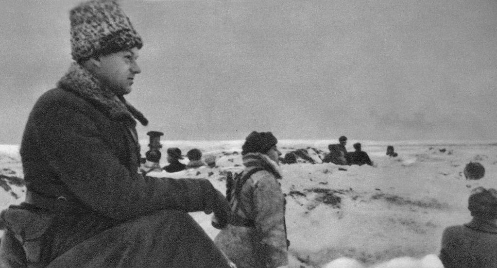 К.К. Рокоссовский под Сталинградом