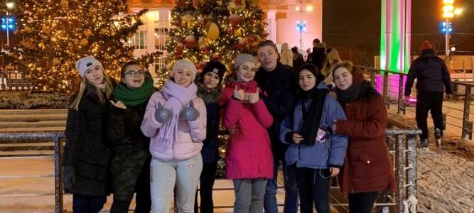 На катке Татьянин день отметили студенты Факультета дошкольной педагогики и психологии!