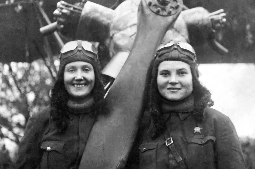 Т.П. Макарова и В.Л. Белик. 1942 г.