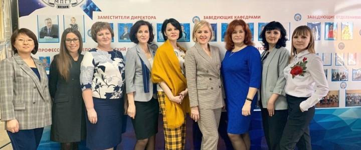 В Анапском филиале МПГУ прошел семинар-практикум «Организация непрерывного профессионального мастерства молодого педагога»