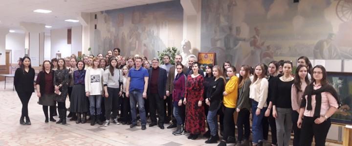 Выставка пастельной графики «Чистов П.Д. –  художник-педагог и его ученики»