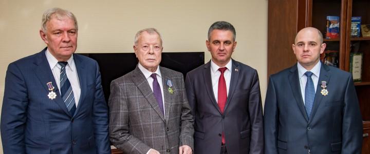 Государственная награда Приднестровья профессору МПГУ