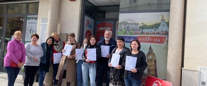 Студенты и преподаватели Покровского филиала МПГУ приняли участие в международной стажировке «Английский язык в сфере профессиональной коммуникации» в IKTO English Language School, Мальта