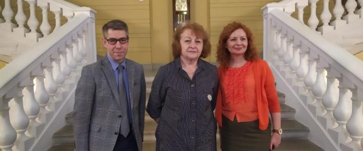 Марина Юрьевна Чибисова провела мастер-классы для педагогов Второй Санкт-Петербургской гимназии