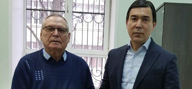 Визит представителей Национальной палаты предпринимателей Казахстана «Атамекен»