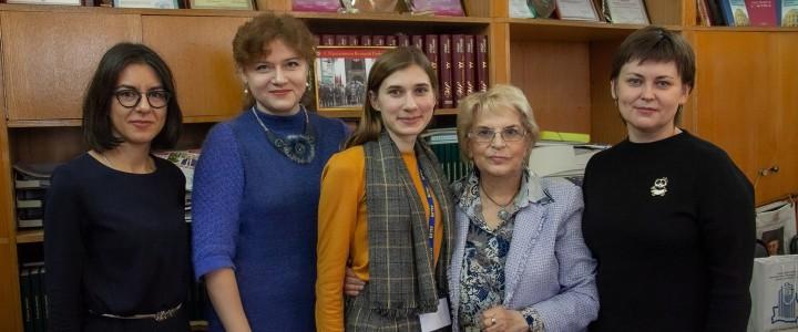 В гостях у редакции газеты «Педагогический университет» пресс-служба БГПУ
