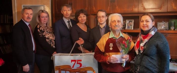 М.Б. Успенскому вручили медаль к 75-летию Победы в Великой Отечественной войне