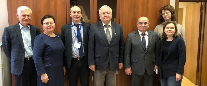 Встреча представителя БГПУ с преподавателями ИМИ