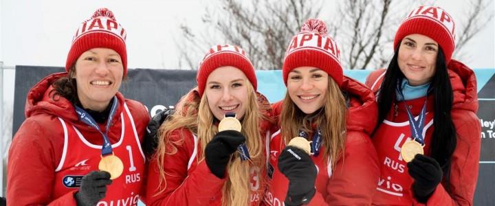 Победа на 3 этапе Евротура по волейболу на снегу