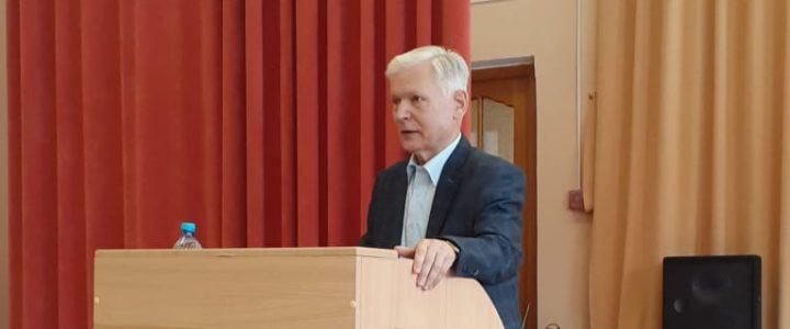 Зав. кафедрой ЭМ Смирнов В.А. принял участие в Межрегиональном методическом семинаре в г. Руза