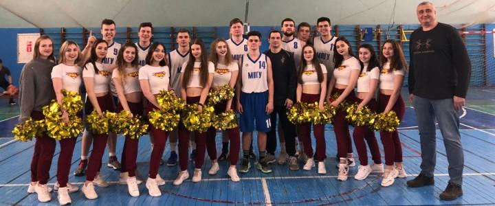 Мужская сборная МПГУ по баскетболу вышла в следующий этап плей-офф 1/4