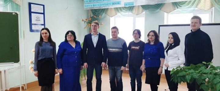 Сергиево-Посадский филиал МПГУ посетил депутат Московской областной думы Сергей Владимирович Двойных