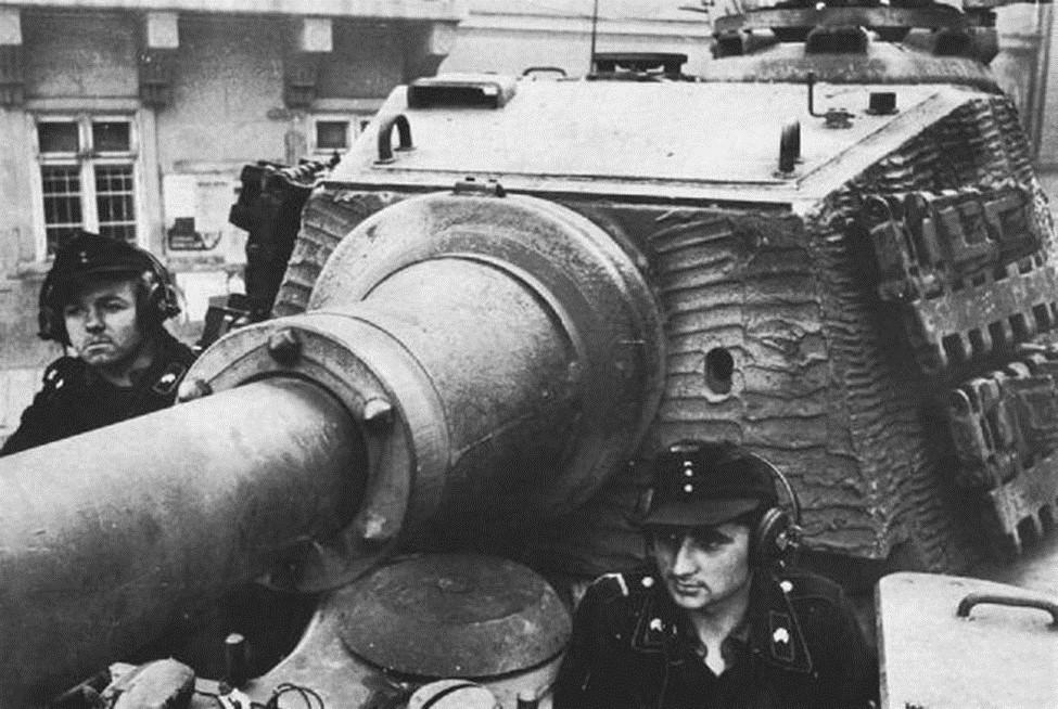 Немецкие танковые войска перед наступлением