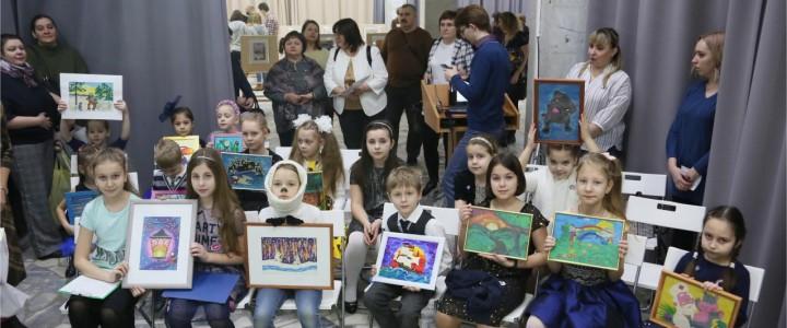 Конкурс-выставка детских художественных работ «Лики творчества»