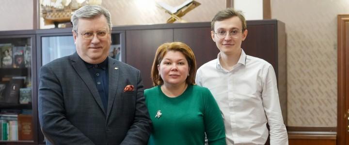 Алексей Лубков провел встречу с руководством Управы района Хамовники