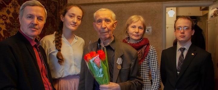 Юбилейная медаль «75-лет Победы в Великой Отечественной войне 1941-1945 гг.» ветеранам МПГУ