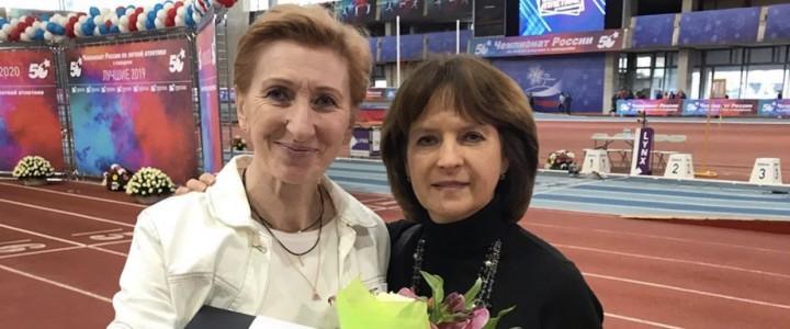 Столяр Любовь Михайловна стала лучшей спортсменкой среди ветеранов 2019 года
